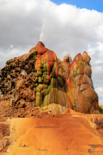 Fly Geyser, Gerlach, Black Rock Desert, Nevada Nevada  Nevada Fly Geyser Burning Man Black Rock Desert