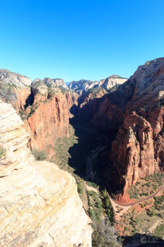 Angels Landing en Checkerboard Mesa, Zion Utah  Zion Checkerboard mesa Canyon Angels Landing