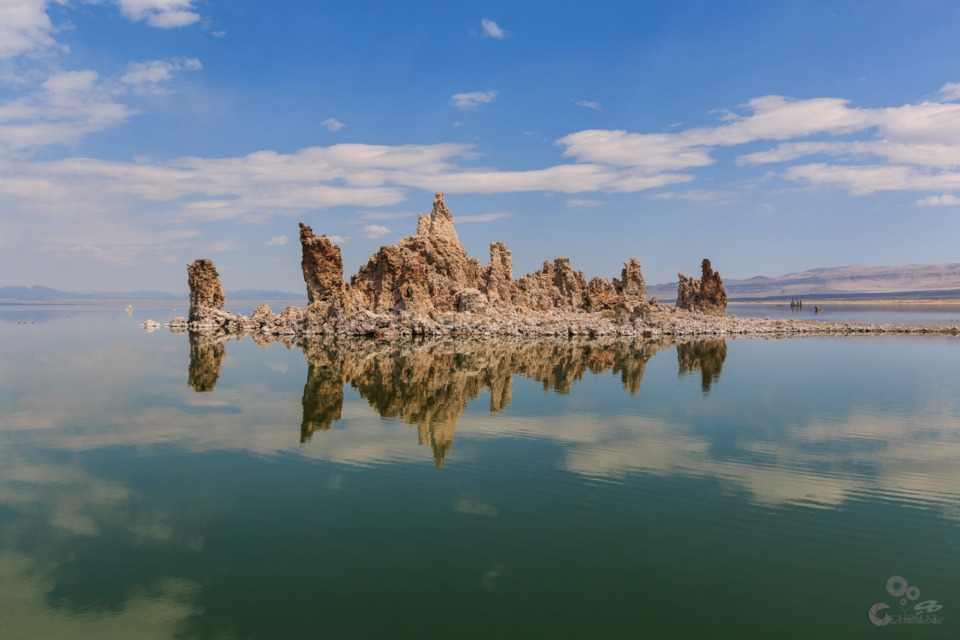 Mono Lake California  Tufa Mono Lake